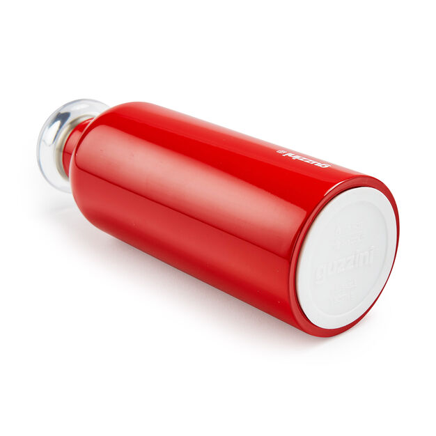 Guzzini Energy Water Bottle in color Red