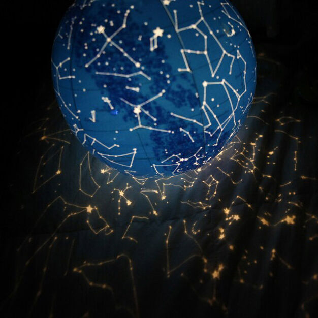 Inflatable Constellations Ball in color