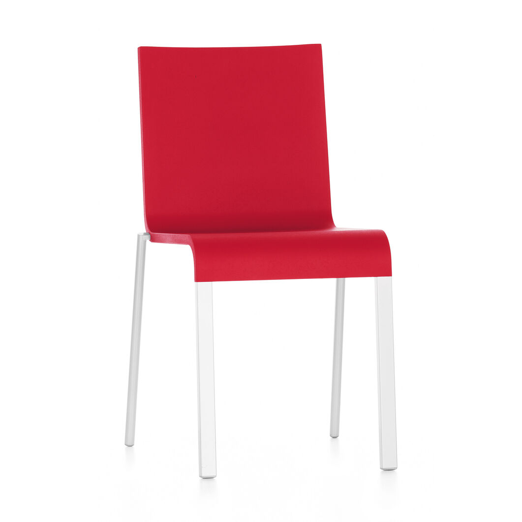 .03 Stacking Chair in color Red