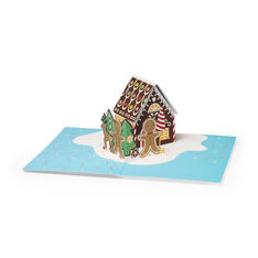Gingerbread House Holiday Cards - Set of 8 in color