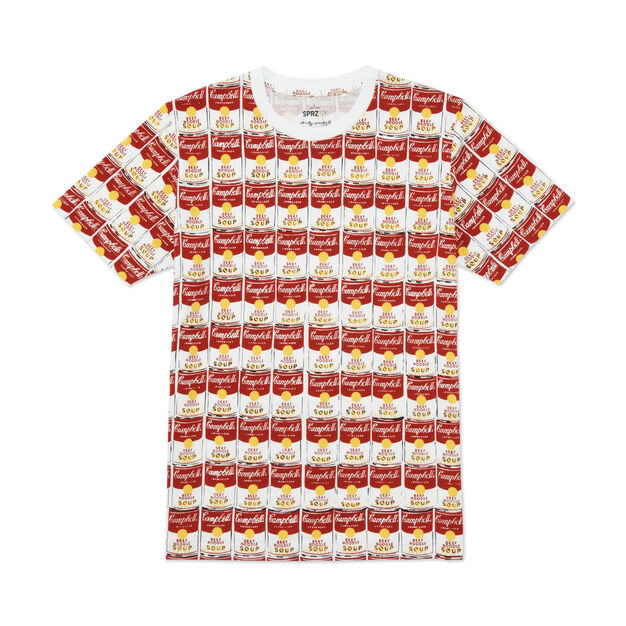 UNIQLO Andy Warhol Soup Cans T-Shirt in color Multi