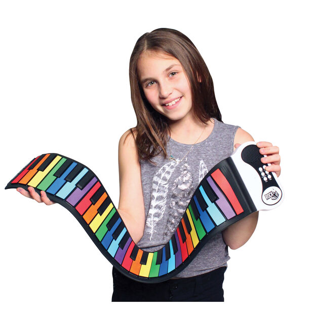 Roll-Up Piano in color Multi