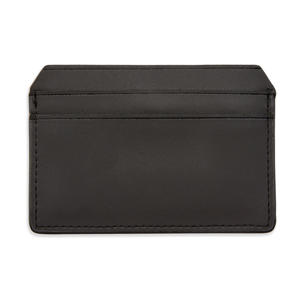 Rains Vegan Waterproof Card Holder in color Black