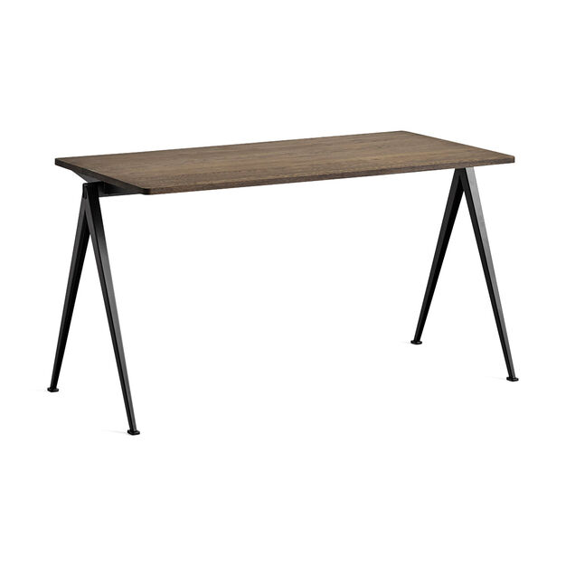 HAY Pyramid Table 01 in color Oak/ Black