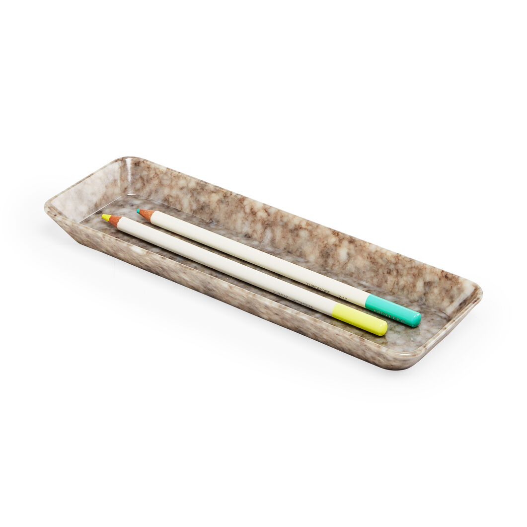 Hightide Pen Tray in color Gray