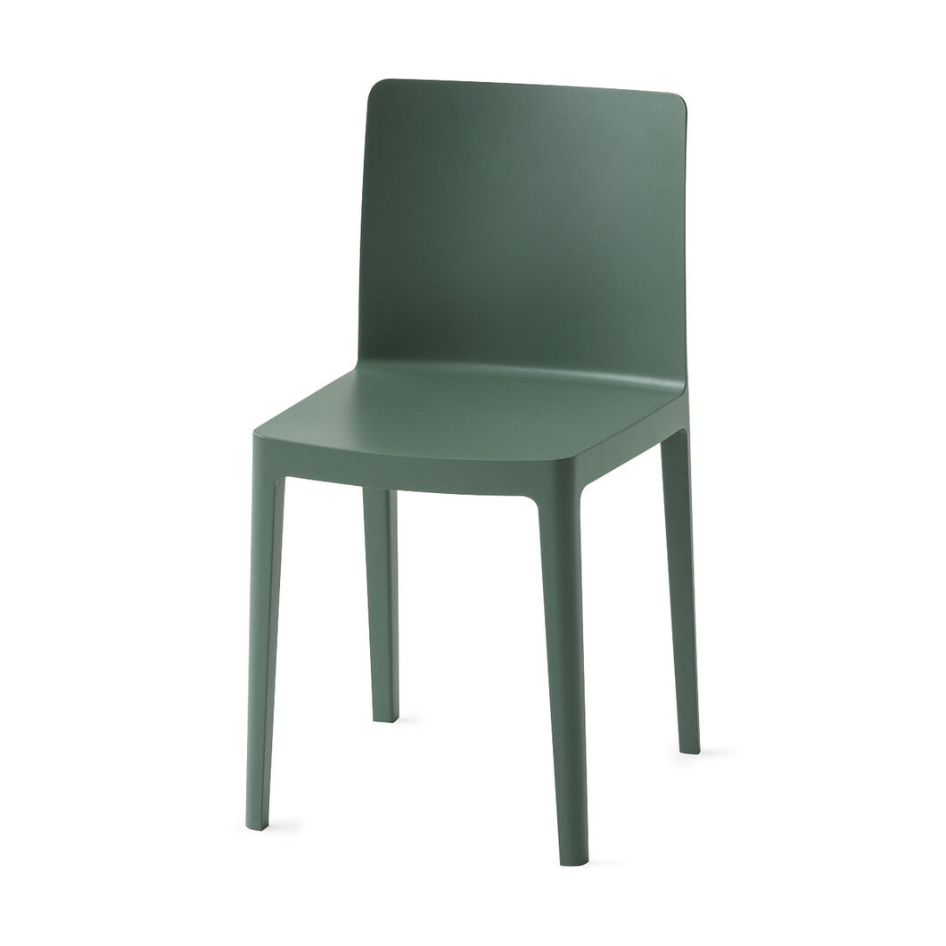 HAY Élémentaire Chairs in color Smoky Green