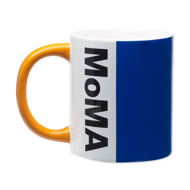 MoMA Logo Mug in color Blue/ Orange