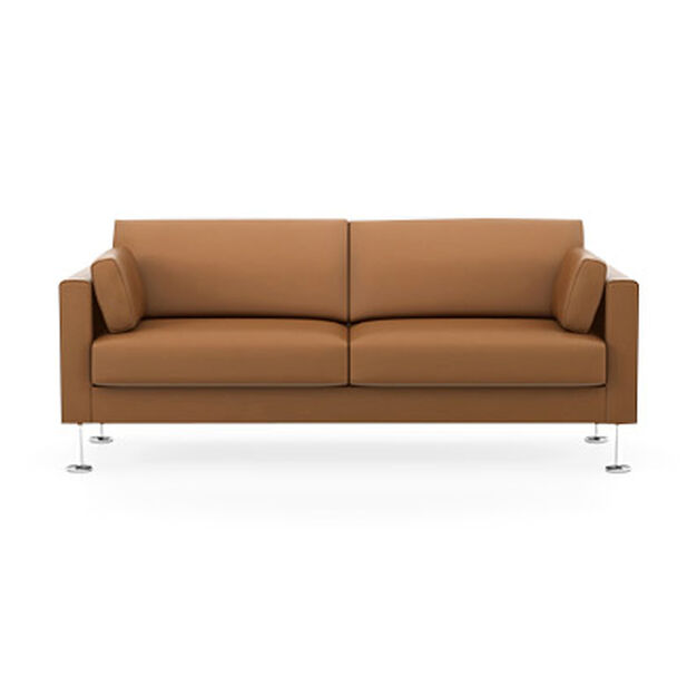 Park Sofa Two-Seater in color Burnt Orange