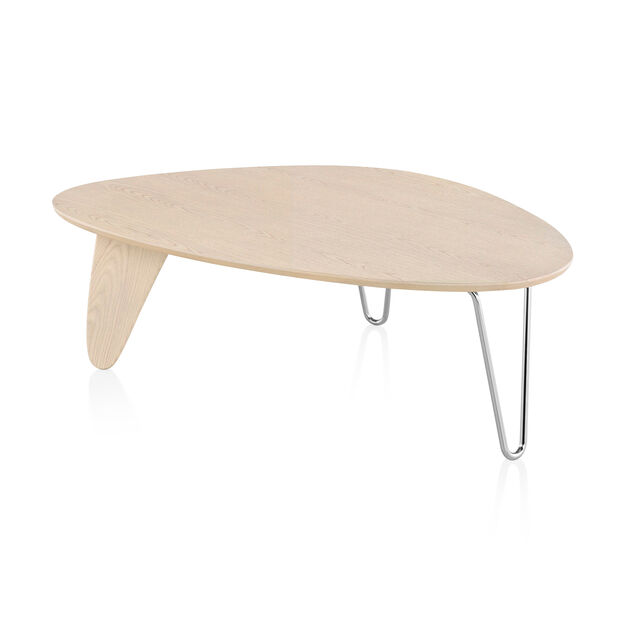 Noguchi Rudder Coffee Table in color White Ash