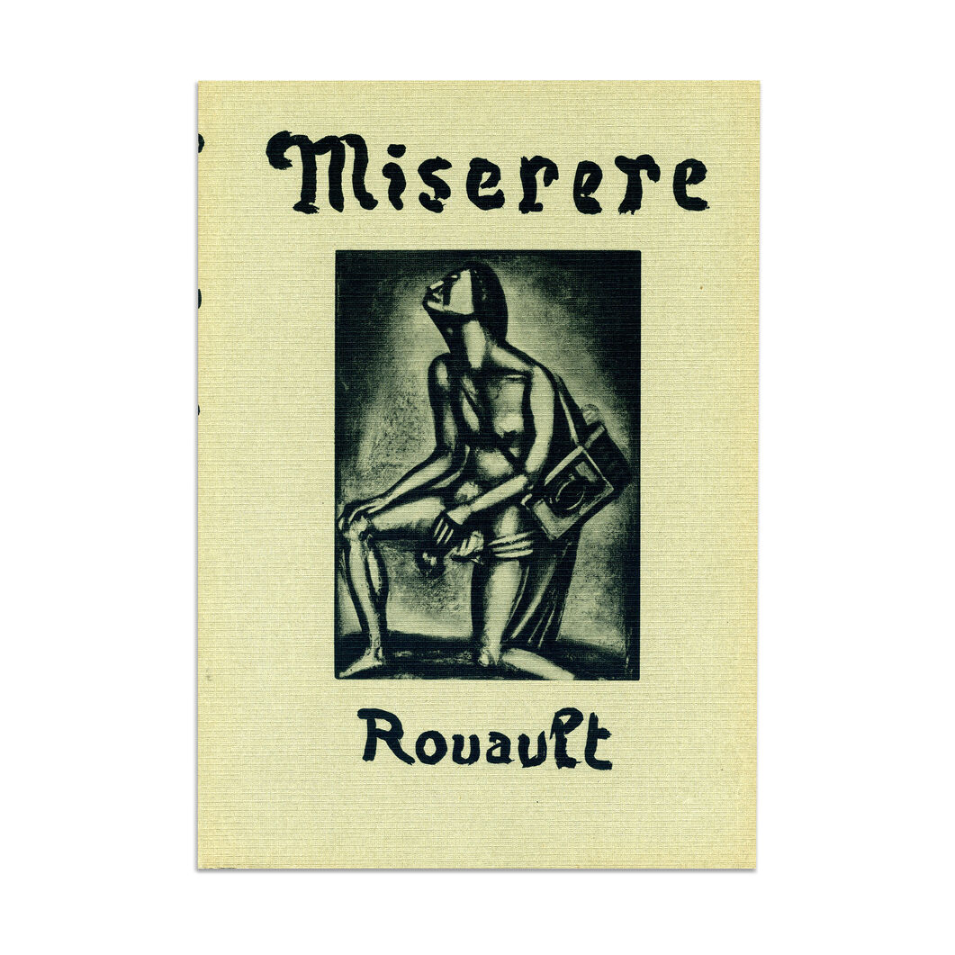 Miserere of Georges Rouault - Hardcover in color