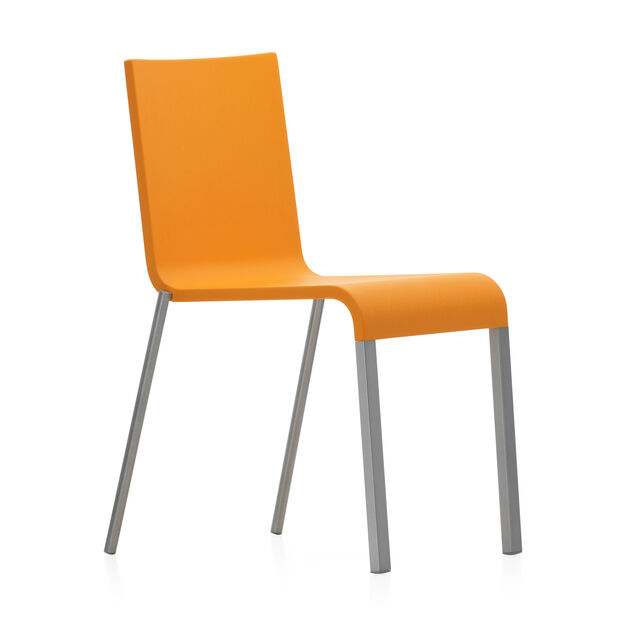 .03 Stacking Chair in color Orange