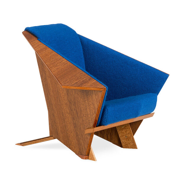 Miniature Wright Taliesin Chair in color