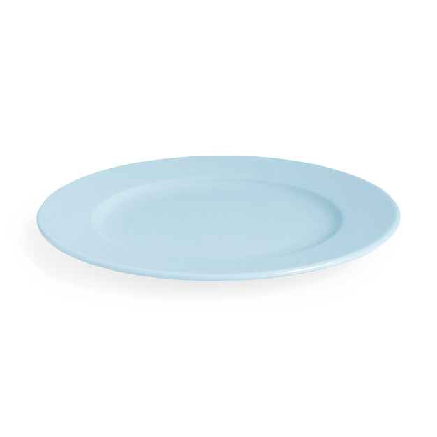 HAY Rainbow Plate in color Light Blue