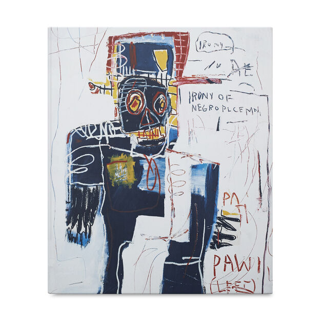 Jean-Michel Basquiat: Now's the Time in color