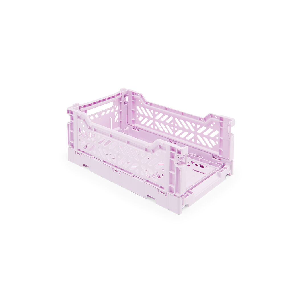 HAY Collapsible Storage Bins in color Orchid
