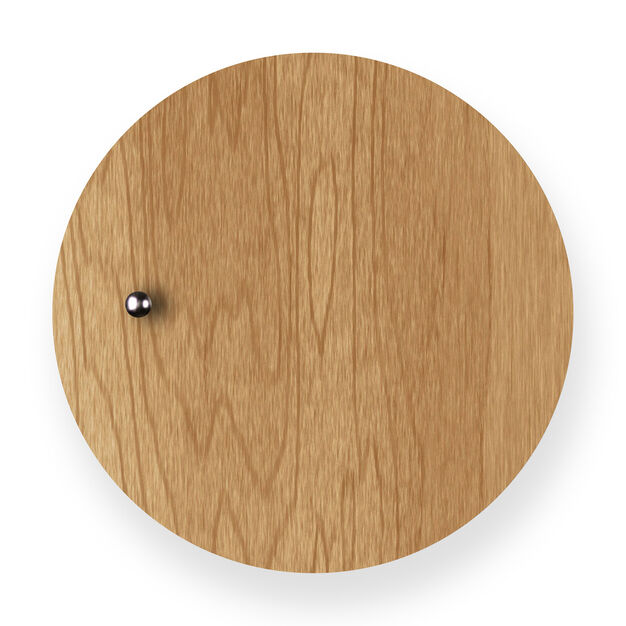 Story Clock in color Oak