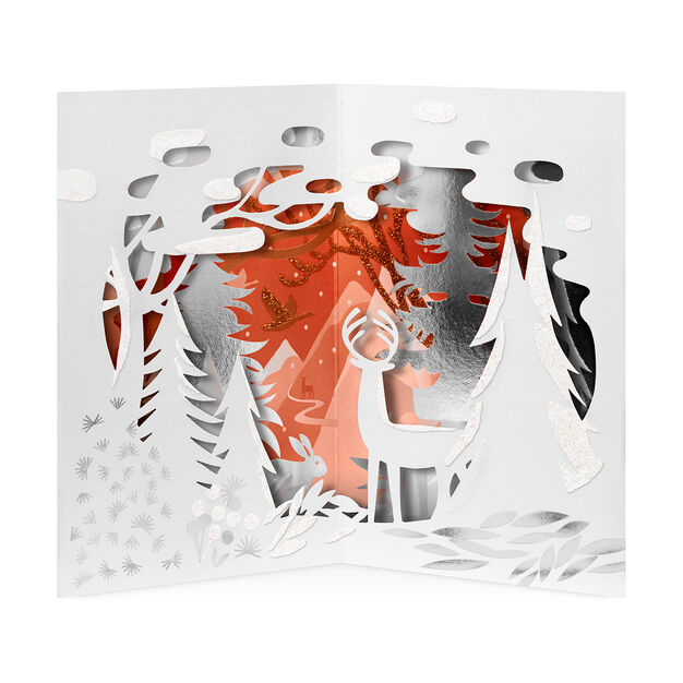 snowy wonderland holiday cards box of - Moma Holiday Cards