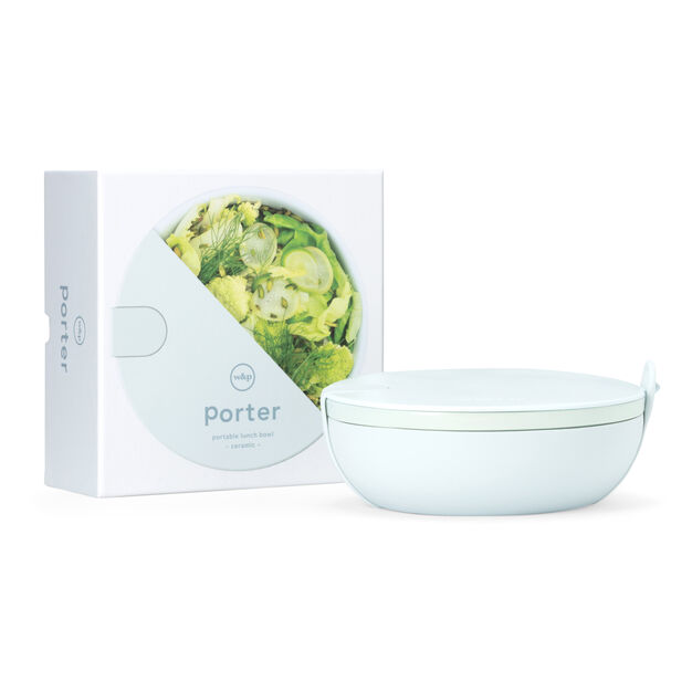 Porter Ceramic Travel Bowl in color Mint