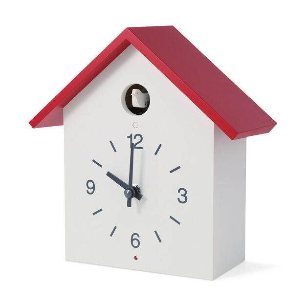 MUJI Cuckoo Clock - Red Roof in color