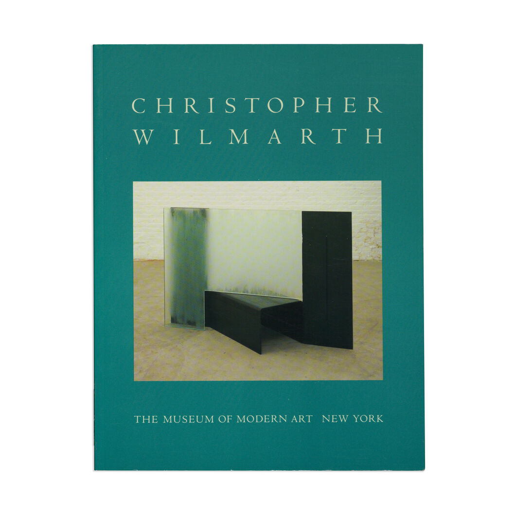 Christopher Wilmarth - Paperback in color