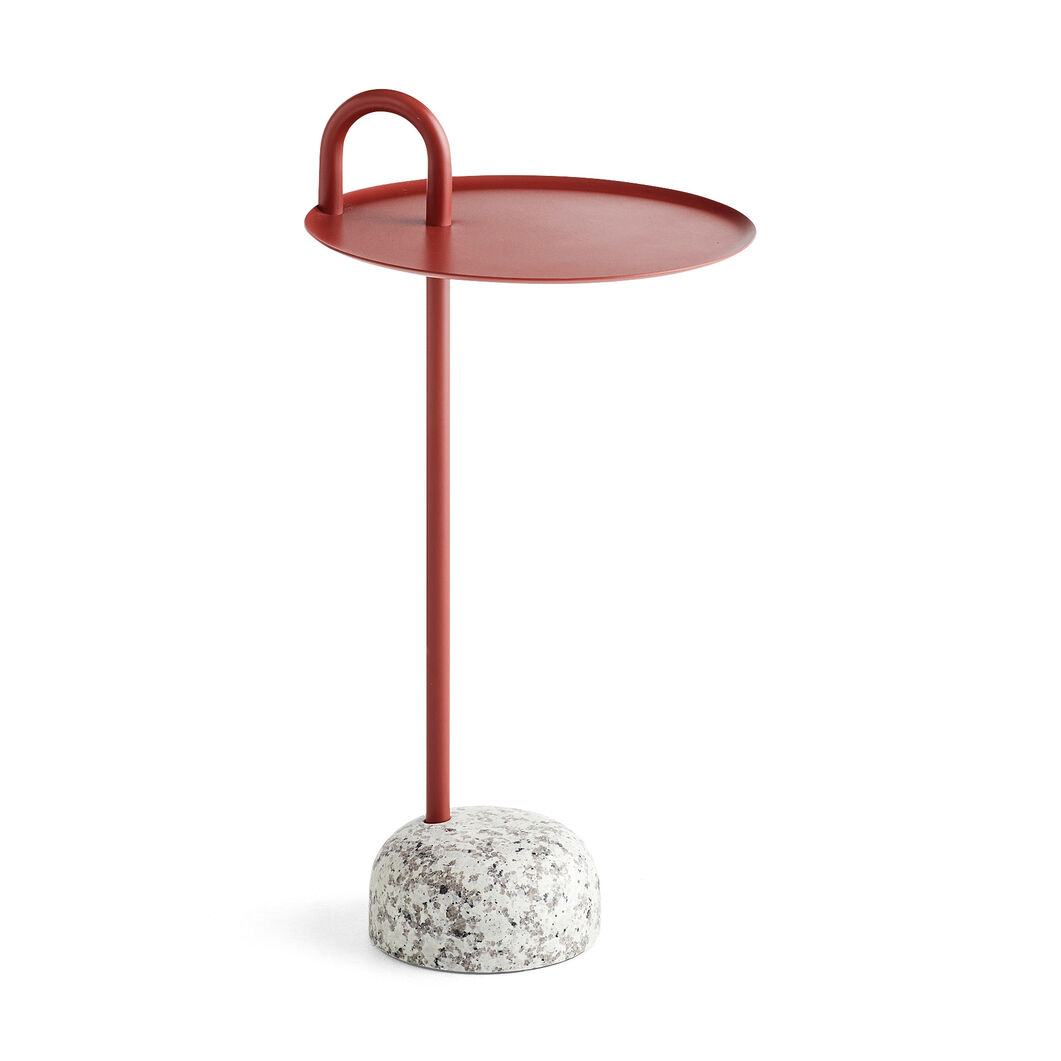 HAY Bowler Table in color Red