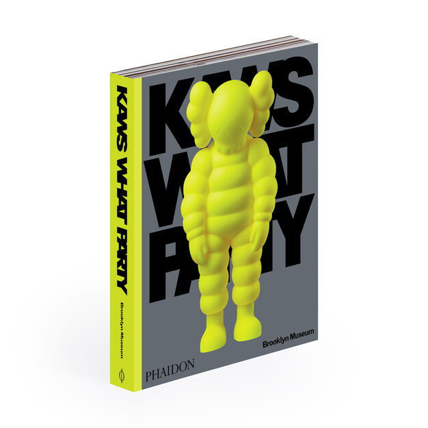 KAWS What Party - Hardcover (Pre-order) in color Yellow