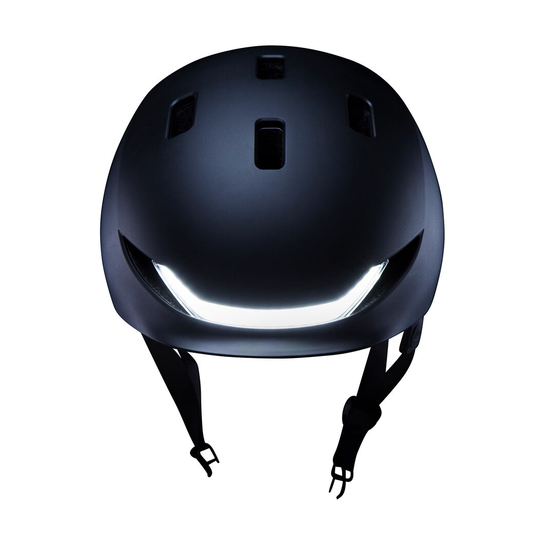 Lumos Matrix Helmet in color Black