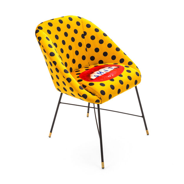 Seletti Wears Toiletpaper: Teeth Chair in color