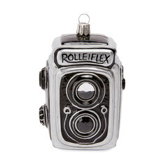 Rolleiflex Camera Ornament in color
