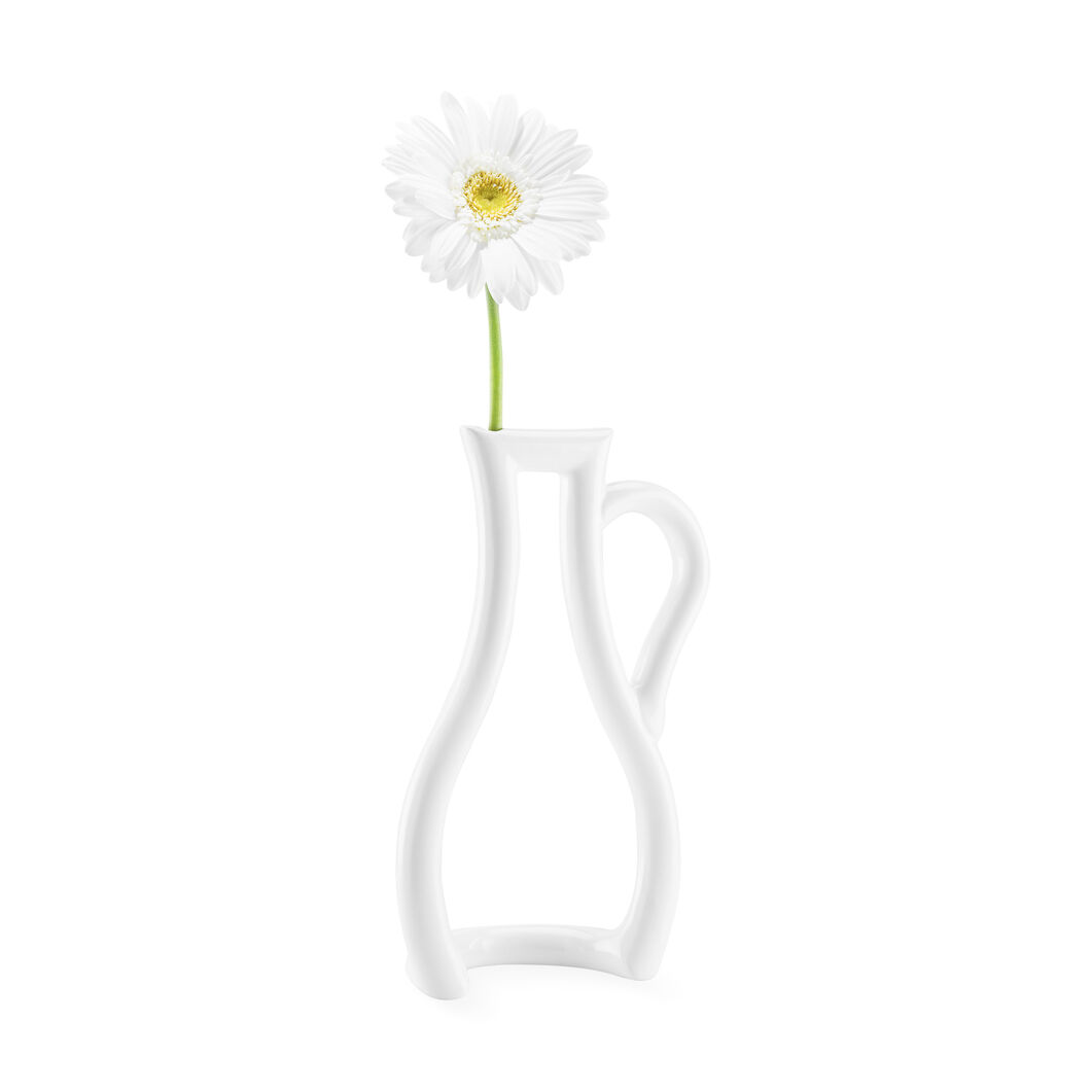 Outline Vase in color White
