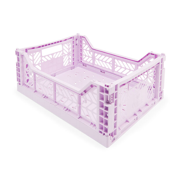 Collapsible Storage Bins in color Orchid