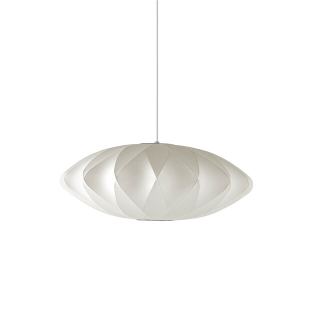 Nelson™ Crisscross Saucer Bubble Pendant in color
