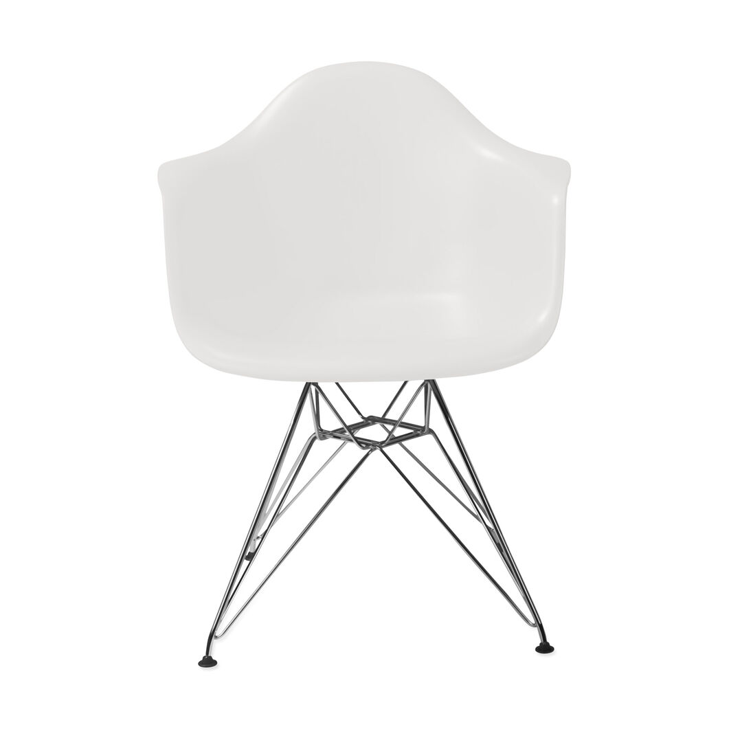 Eames® Molded Plastic Armchair with Wire Base (DAR) in color