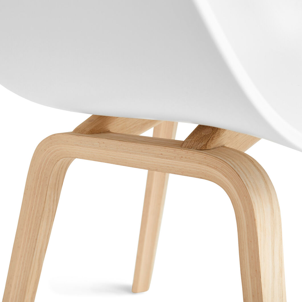 HAY About a Chair 22 in color White/ Oak