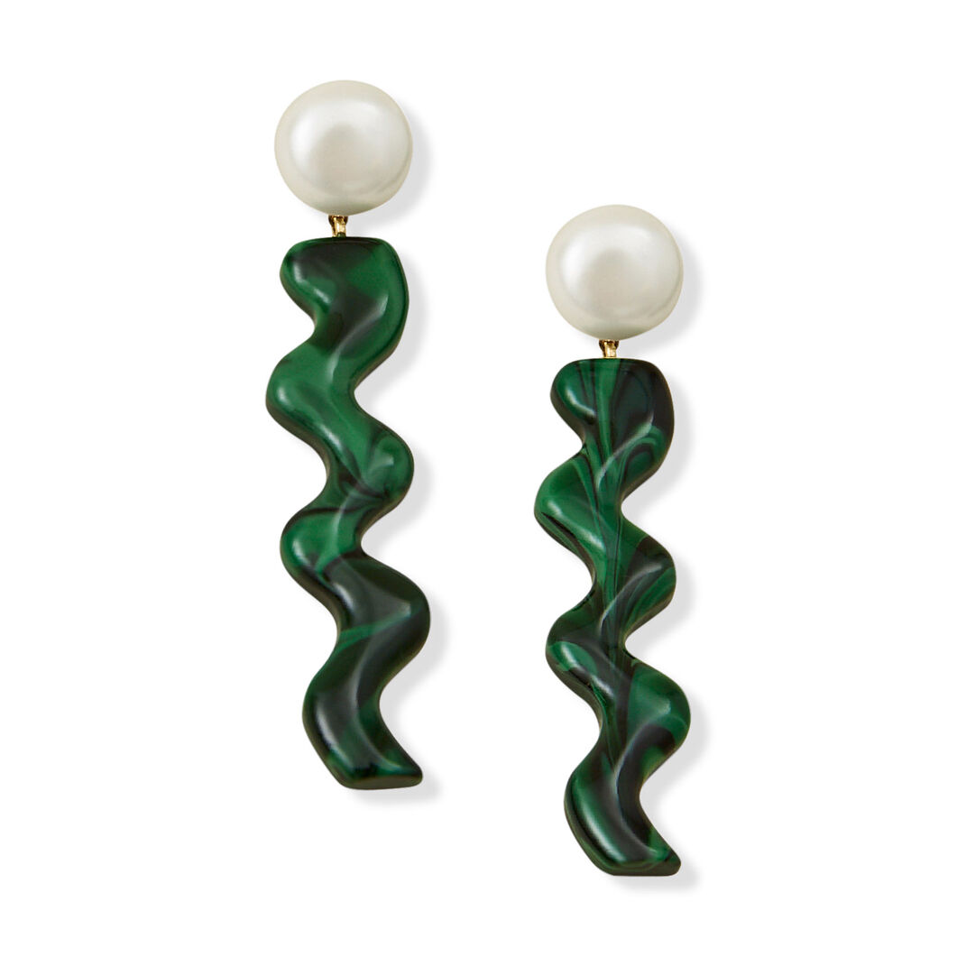 Rachel Comey Hurley Earrings in color Green