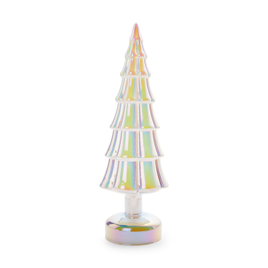 LED Lighted Trees in color White