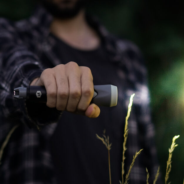 Sparkr Flashlight & Electric Lighter in color