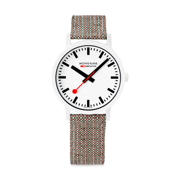 Mondaine Essence Watch in color White