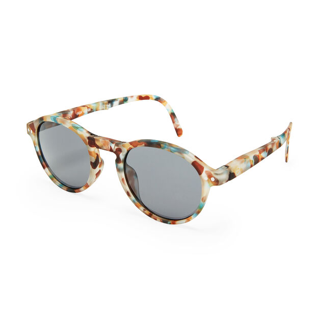 IZIPIZI Foldable Sunglasses #F in color Blue Tortoise
