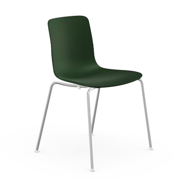 HAL Stackable Tube Chair in color Ivy