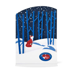 Winter Foxes Holiday Cards - Set of 8 in color