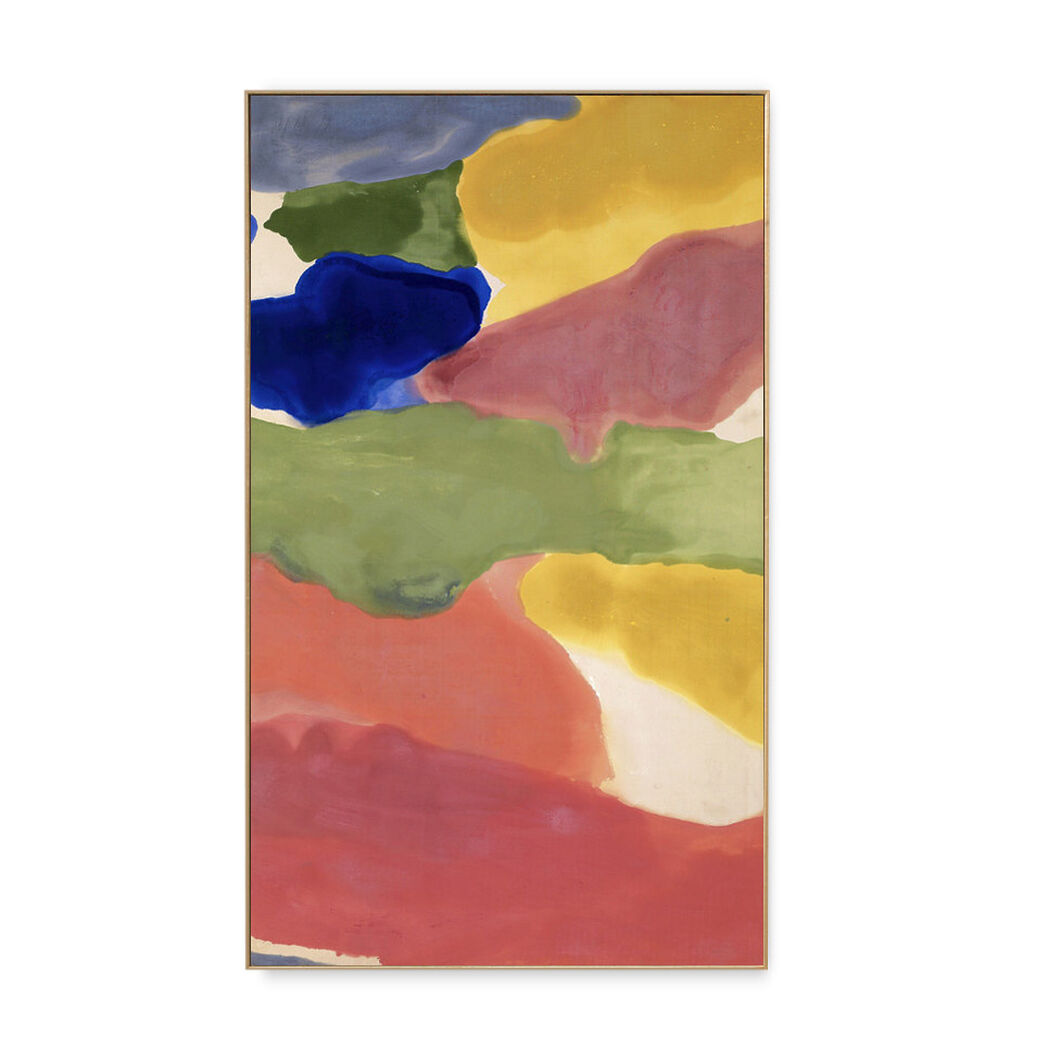 Frankenthaler: Tutti-Frutti Framed Print in color