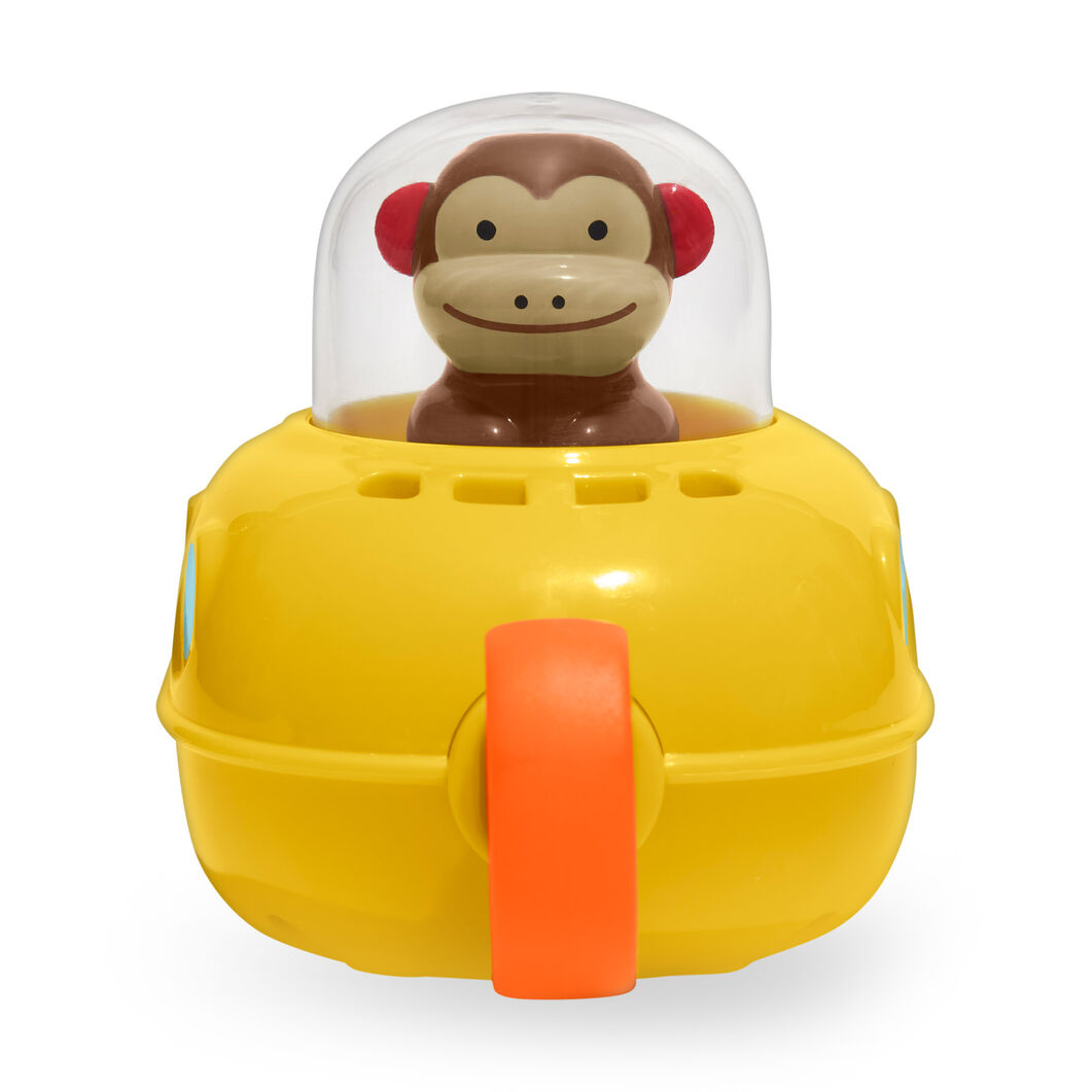 Pull & Go Submarine Bath Toy in color