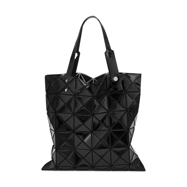 BAO BAO ISSEY MIYAKE Lucent Tote Bag in color Black
