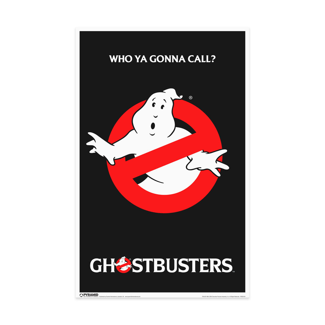 Ghostbusters Poster in color