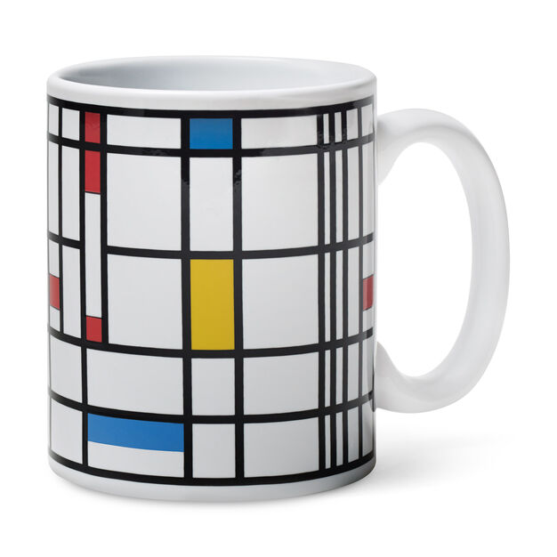 Mondrian Color-Changing Mug in color