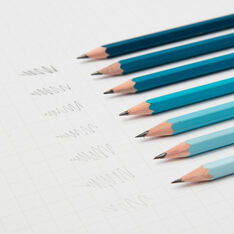 Gradient Sketching Pencils in color