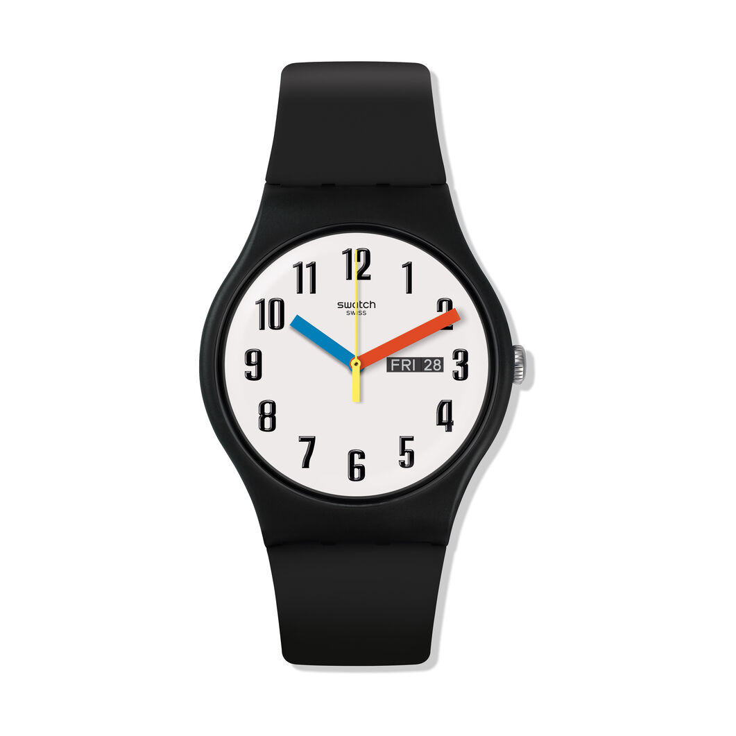 Swatch Essential Watch in color Black
