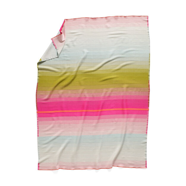 HAY Color Plaid Throw in color Pink/ Green