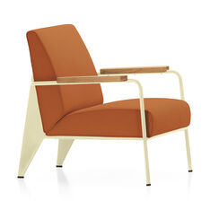 Fauteuil de Salon Chair in color Cognac